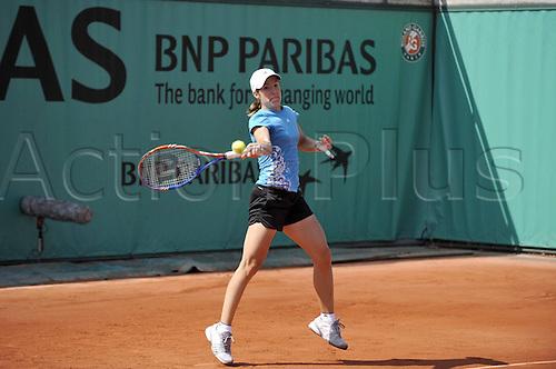 21 05 2010  Justine Henin BEL  Roland Garros International  ladies tournament. WTA Tennis Tour 2010.
