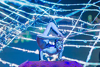 """SÃO PAULO, SP, 05.11.2018 - CIRQUE DU SOLEIL - Apresentação do espetáculo durante coletiva de imprensa do espetáculo """"Ovo"""" do Cirque du Soleil na manhã desta segunda-feira, 05, na Casa Fasano Buffet no bairro do Itaim Bibi em São Paulo. (Foto: Anderson Lira\Brazil Photo Press)"""