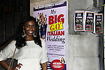 "One Life To Live Nefessa Williams ""Deanna Forbes"" attends My Big Gay Italian Wedding on March 18, 2011 (also 3-17- & 3-20) at St. Luke's Theatre, New York City, New York. (Photo by Sue Coflin/Max Photos)"