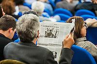 Udienza di apertura del processo su Mafia Capitale, al Tribunale di Roma, 5 novembre 2015.<br /> Opening audience of the trial on Mafia Capitale, at Rome's court, 5 November 2015.<br /> UPDATE IMAGES PRESS/POOL - AGF - Alessandro Serrano'˜