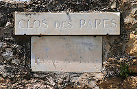clos de papes paul avril chateauneuf du pape rhone france