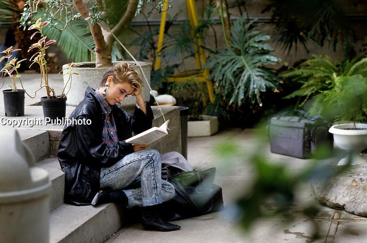 EXCLUSIVE PHOTO  - Marie-Soleil Tougas, <br />  circa 1987.