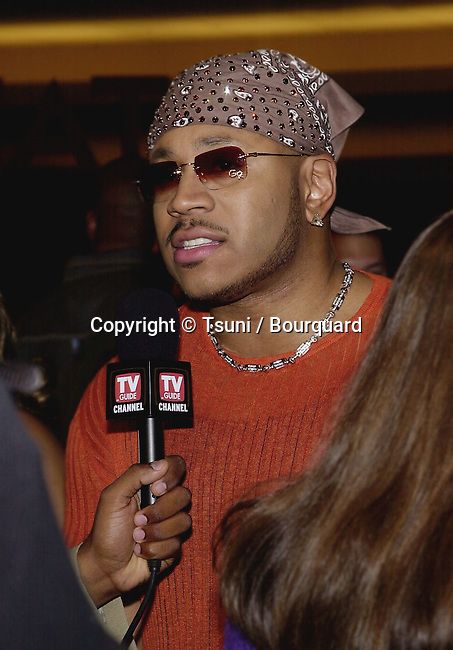 """LL Cool J during interview  at the premiere of """" Kingdom Come""""  at the Writer Guild Awards in Los Angeles  4/4/2001   © Tsuni          -            LLCoolJ04.jpg"""