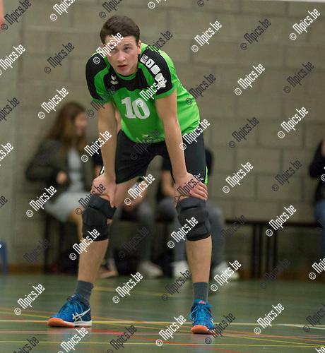 2016-11-12 / Volleybal/ seizoen 2016-2017 / Mendo - Pervol Ruiselede / Christophe Witvrouwen ,Foto: Mpics.be