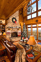 Photography  of  a North Carolina mountain home in the Blue Ridge Mountains of Elk Park, NC.