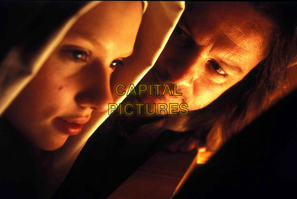 SCARLETT JOHANSSON.COLIN FIRTH.in Girl With A Pearl Earring.Filmstill - Editorial Use Only.Ref: FB.sales@capitalpictures.com.www.capitalpictures.com.Supplied by Capital Pictures.