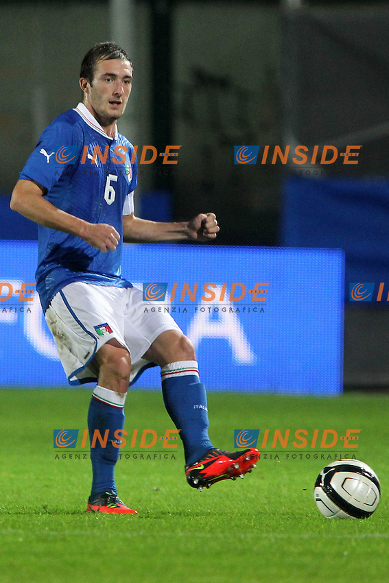 "Luca Caldirola.Siena 13/11/2012 Stadio ""Franchi"".Football Calcio Nazionale U21.Italia v Spagna.Foto Insidefoto Paolo Nucci."