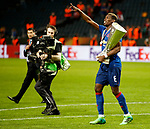 Paul Pogba of Manchester United celebrates with the trophy after the UEFA Europa League Final match at the Friends Arena, Stockholm. Picture date: May 24th, 2017.Picture credit should read: Matt McNulty/Sportimage