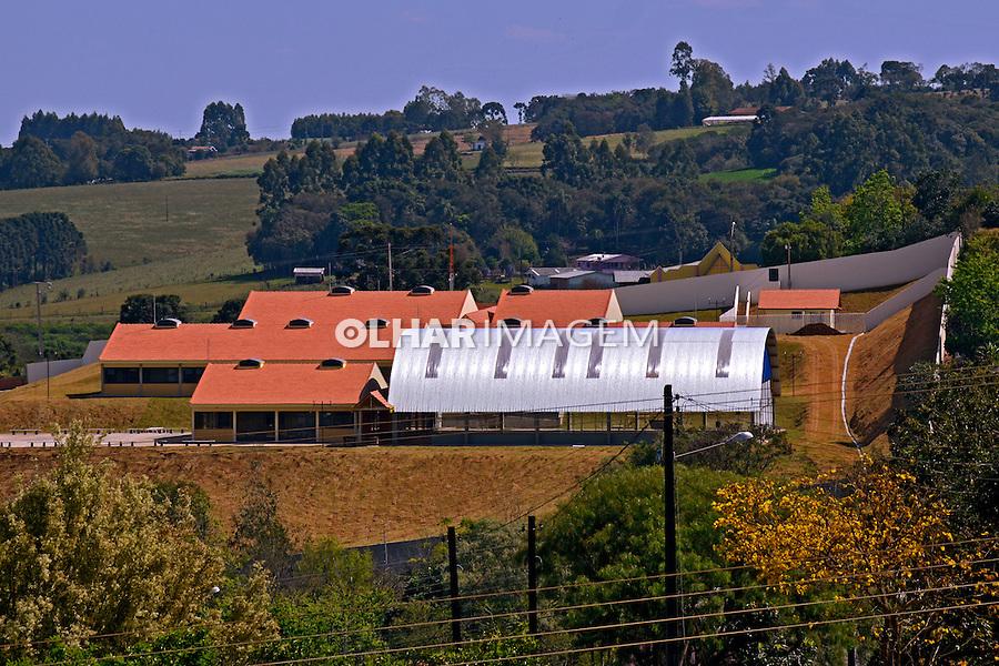 Colegio Estadual Professora Elenir Linke em Cantagalo. Parana. 2014. Foto de Antonio Costa.