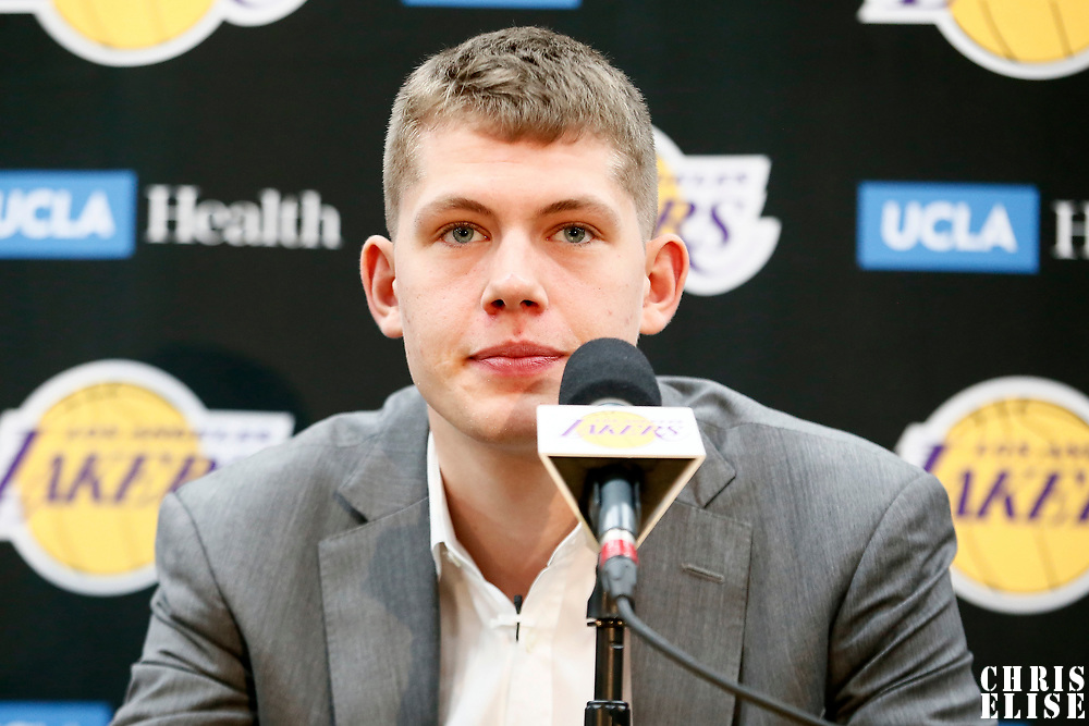 Los Angeles Lakers Introduce 2018 Draft Picks | CHRIS ELISE