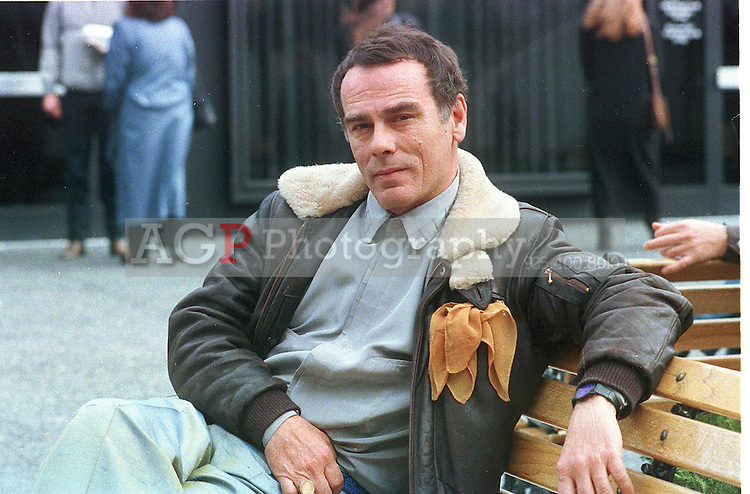 Actor Dean Stockwell poses in Feb 1989 in Los Angeles.  (Photo by Alan Greth)