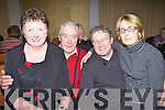 Enjoying the music & dancing at the Ring of Kerry Hotel on Saturday night last in aid of Cork University Hospital's Cancer, Neurology & Cystic Fibrosis Units were l-r; Agnes & John O'Sullivan with Dan & Elaine Buckley.