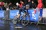 Alejandro Valverde (ESP) Movistar Team in action during Stage 1, a 14km individual time trial around Dusseldorf, of the 104th edition of the Tour de France 2017, Dusseldorf, Germany. 1st July 2017.<br /> Picture: Eoin Clarke | Cyclefile<br /> <br /> <br /> All photos usage must carry mandatory copyright credit (&copy; Cyclefile | Eoin Clarke)