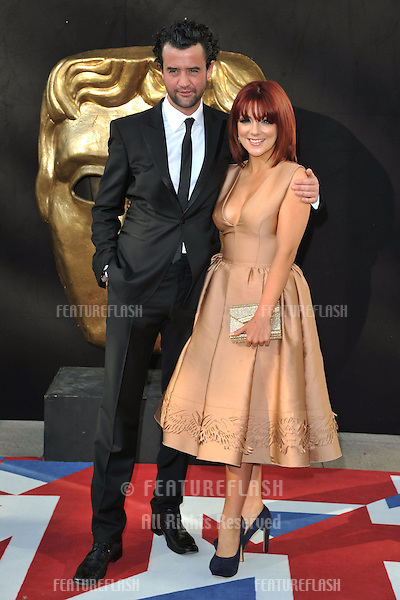 Sheridan Smith and Daniel Mays arriving for the BAFTA TV Awards 2012 at the Royal Festival Hall, South Bank, London. 27/05/2012 Picture by: Steve Vas / Featureflash