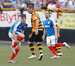 Andy Halliday takes a sore one