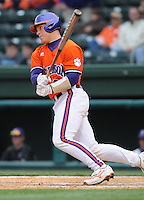 May 11, 2009: Catcher Phil Pohl (9) of the Clemson Tigers in a game against the Furman Paladins at Fluor Field at the West End in Greenville, S.C. Photo by: Tom Priddy/Four Seam Images