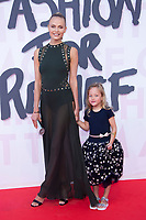 Natasha Poly and daughter at the 2018 Fashion For Relief gala during the 71st Cannes Film Festival, held at Aeroport Cannes Mandelieu in Cannes, France.<br /> CAP/NW<br /> &copy;Nick Watts/Capital Pictures