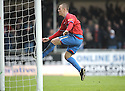 05/12/2009  Copyright  Pic : James Stewart.sct_jspa13_falkirk_v_rangers  . :: KENNY MILLER CELEBRATES AFTER SCORING THE THIRD FROM THE PENALTY SPOT :: .James Stewart Photography 19 Carronlea Drive, Falkirk. FK2 8DN      Vat Reg No. 607 6932 25.Telephone      : +44 (0)1324 570291 .Mobile              : +44 (0)7721 416997.E-mail  :  jim@jspa.co.uk.If you require further information then contact Jim Stewart on any of the numbers above.........