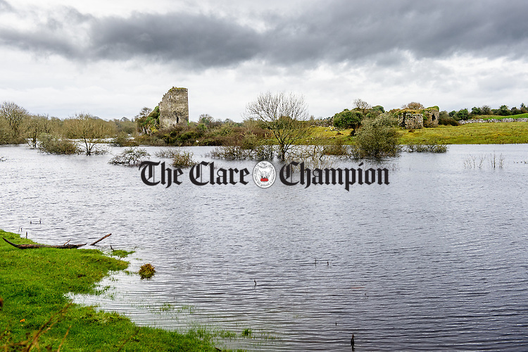 Flooded farmland near Kiltartan in South Galway. Photograph by John Kelly.