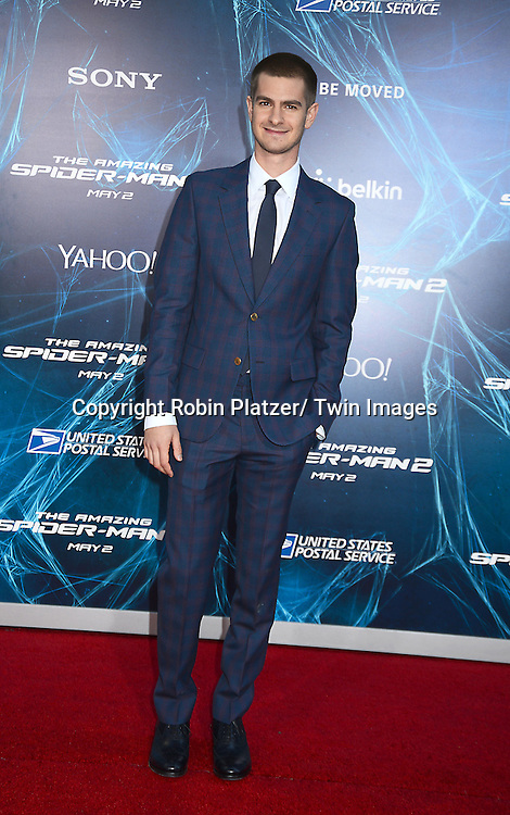 Andrew Garfield attends the Premiere of &quot; The Amazing Spider-Man 2&quot; <br /> on April 24, 2014 at The Ziegfeld Theatre in New York City, NY, USA.
