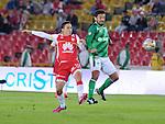 Independiente Santa Fe cayó 0-1 ante Cali en el Campín, en cumplimiento de la fecha 16 del Torneo Apertura 2015.
