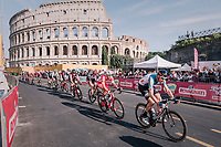 Sander Armée (BEL/Lotto-Soudal) in front of the Colosseum<br /> <br /> stage 21: Roma - Roma (115km)<br /> 101th Giro d'Italia 2018