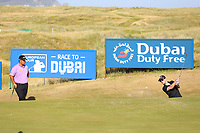 Joe Molloy playing with Kiradech Aphibarnrat (THA) during the ProAm of the 2018 Dubai Duty Free Irish Open, Ballyliffin Golf Club, Ballyliffin, Co Donegal, Ireland.<br /> Picture: Golffile | Jenny Matthews<br /> <br /> <br /> All photo usage must carry mandatory copyright credit (&copy; Golffile | Jenny Matthews)