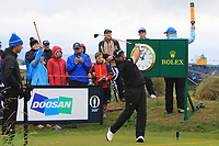 Shane Lowry (IRL) on the 10th during the preview of the the 148th Open Championship, Portrush golf club, Portrush, Antrim, Northern Ireland. 17/07/2019.<br /> Picture Thos Caffrey / Golffile.ie<br /> <br /> All photo usage must carry mandatory copyright credit (© Golffile | Thos Caffrey)