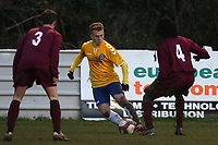 Etuan Kessell of Woodford Town during Leyton Athletic vs Woodford Town, Essex Senior League Football at Wadham Lodge Sports Ground on 1st December 2018