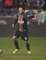 Jack McInerney.  The Philadelphia Union defeated the New England Revolution, 1-0, at PPL Park in Chester, PA.