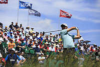 Sean O'Hair (USA) tees off the 1st tee to start his match during Thursday's Round 1 of the 117th U.S. Open Championship 2017 held at Erin Hills, Erin, Wisconsin, USA. 15th June 2017.<br /> Picture: Eoin Clarke | Golffile<br /> <br /> <br /> All photos usage must carry mandatory copyright credit (&copy; Golffile | Eoin Clarke)