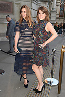 Princess Beatrice and Princess Eugenie<br /> at the at the V&A Museum Summer Party 2017, London. <br /> <br /> <br /> ©Ash Knotek  D3286  21/06/2017