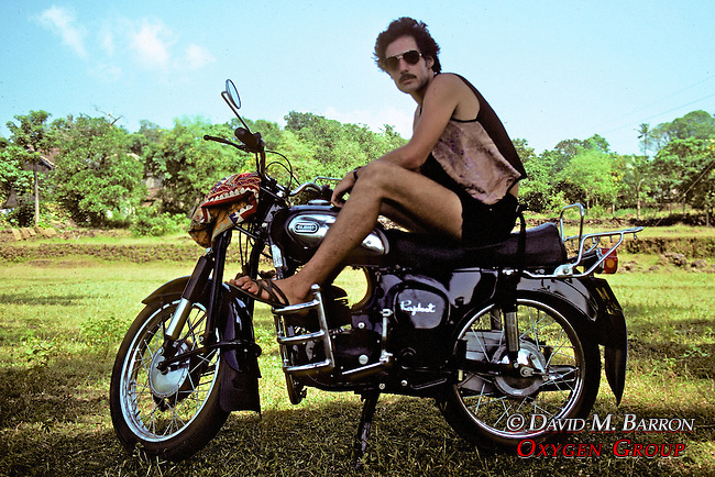 David On Raddoot Motorbike