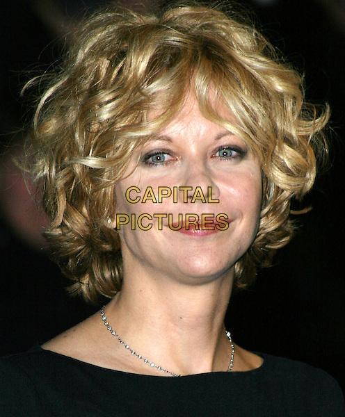 MEG RYAN.In The Cut UK premiere.portrait, headshot.www.capitalpictures.com.sales@capitalpictures.com.© Capital Pictures.