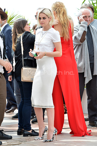 Kristen Stewart, Blake Lively the 'Cafe Society' Photocall during the 69th Annual Cannes Film Festival at the Palais des Festivals on May 11, 2016 in Cannes, France.<br /> CAP/LAF<br /> &copy;Lafitte/Capital Pictures /MediaPunch ***NORTH AMERICA AND SOUTH AMERICA ONLY***