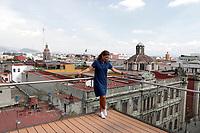 "The Spanish dancer and choreographer Sara Baras announces her tour of Mexico, celebrating 20 years of her Flamenco Ballet, with the assembly entitled ""Sombras"", will be accompanied by the dancer and choreographer José Serrano and the saxophonist Tim Ries, under the musical direction of Keko Baldomero . October 18, 2019, Mexico City, Mexico (Photo: Francisco Morales / DAMMPHOTO)<br /> <br /> La bailaora y coreógrafa española Sara Baras anuncia su gira por México, celebrando 20 años de su Ballet Flamenco, con el  montaje titulado ""Sombras"", le acompañaran el bailaor y coreógrafo José Serrano y el saxofonista Tim Ries, bajo la dirección musical de Keko Baldomero. 18 octubre 2019, Ciudad de México, México (Foto: Francisco Morales/DAMMPHOTO)"