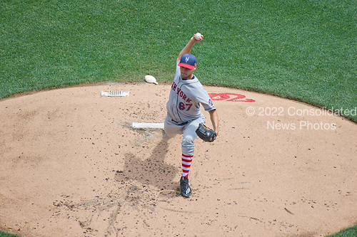 New York Mets starting pitcher Seth Lugo (67) works in the second inning against the Washington Nationals at Nationals Park in Washington, D.C. on Tuesday, July 4, 2017.  <br /> Credit: Ron Sachs / CNP<br /> (RESTRICTION: NO New York or New Jersey Newspapers or newspapers within a 75 mile radius of New York City)