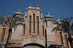 Main Facade of Alicante Market - Mercado Central, Spain