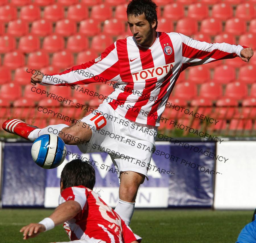 Fudbal, Meridijan super liga, sezona 2007/08.Crvena Zvezda Vs. Vojvodina.Igor Burzanovic.Beograd, 04.19.2008..foto: Srdjan Stevanovic