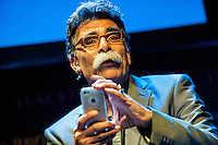 Hay on Wye, UK. Wednesday 01 June 2016<br /> Pictured:  Kader Abdollah <br /> Re: The 2016 Hay festival take place at Hay on Wye, Powys, Wales