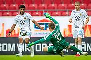 KALMAR, SWEDEN - JULY 01: Rewan Amin of Ostersunds FK during the Allsvenskan match between Kalmar FF and Ostersunds FK at Guldfageln Arena on July 1, 2020 in Kalmar, Sweden. (Photo by David Lidström Hultén/LPNA)