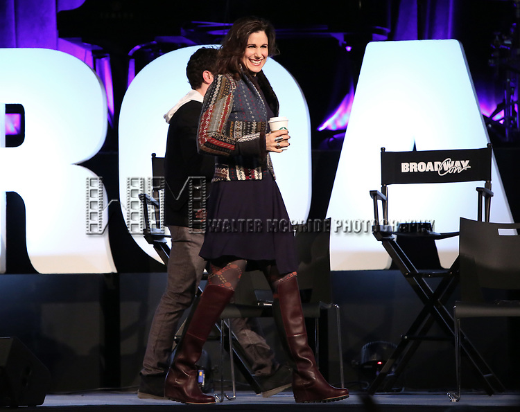 Stephanie J. Block on stage during Broadwaycon at New York Hilton Midtown on January 11, 2019 in New York City.