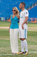 Theo Hernandez and his mother