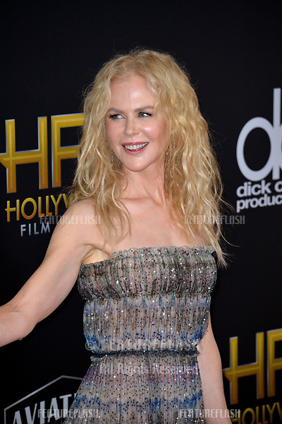 LOS ANGELES, CA. November 04, 2018: Nicole Kidman at the 22nd Annual Hollywood Film Awards at the Beverly Hilton Hotel.<br /> Picture: Paul Smith/Featureflash