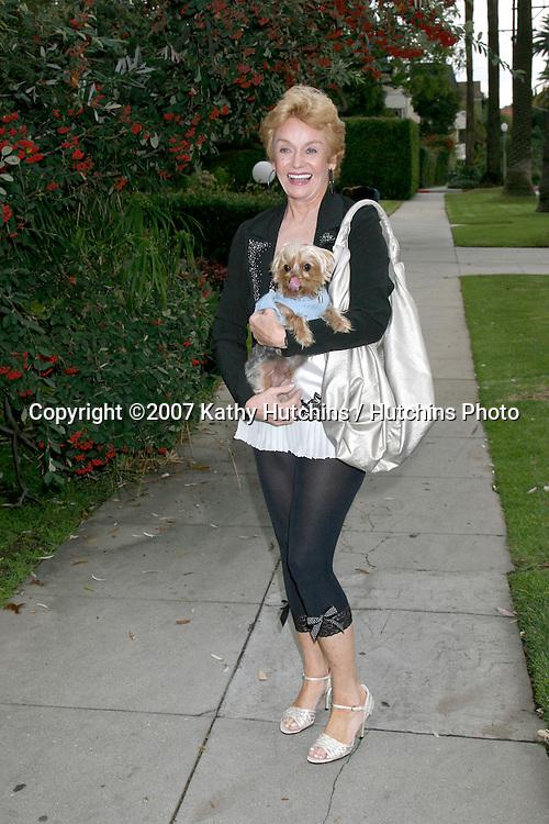 Sharon Farrell.Photo Shoot.Hollywood Hills.December 20, 2007.Los Angeles, CA.©2007 Kathy Hutchins / Hutchins Photo...