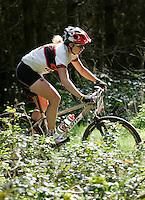 08 APR 2007 - THETFORD, UK - Kate Potter -100km race - British Mountain Bike Marathon series Round 1. (PHOTO (C) NIGEL FARROW)
