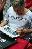 Abruzzo - Italy - 2010: Ian Paice, noto batterista dello storico gruppo musicale dei  Deep Puple, durante una Clinic a Montorio in Abruzzo. Foto Adamo Di Loreto