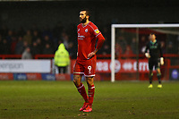 Ollie Palmer of Crawley Town during Crawley Town vs Carlisle United, Sky Bet EFL League 2 Football at Broadfield Stadium on 15th February 2020