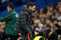 5th November 2019; Stamford Bridge, London, England; UEFA Champions League Football, Chelsea Football Club versus Ajax; A dejected Chelsea Manager Frank Lampard - Editorial Use