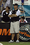 San Francisco Dragons vs Los Angeles Riptide.Lebard Stadium, Orange Coast College,Huntington Beach, California.Coach Shawn Trell.506P1527.JPG.CREDIT: Dirk Dewachter
